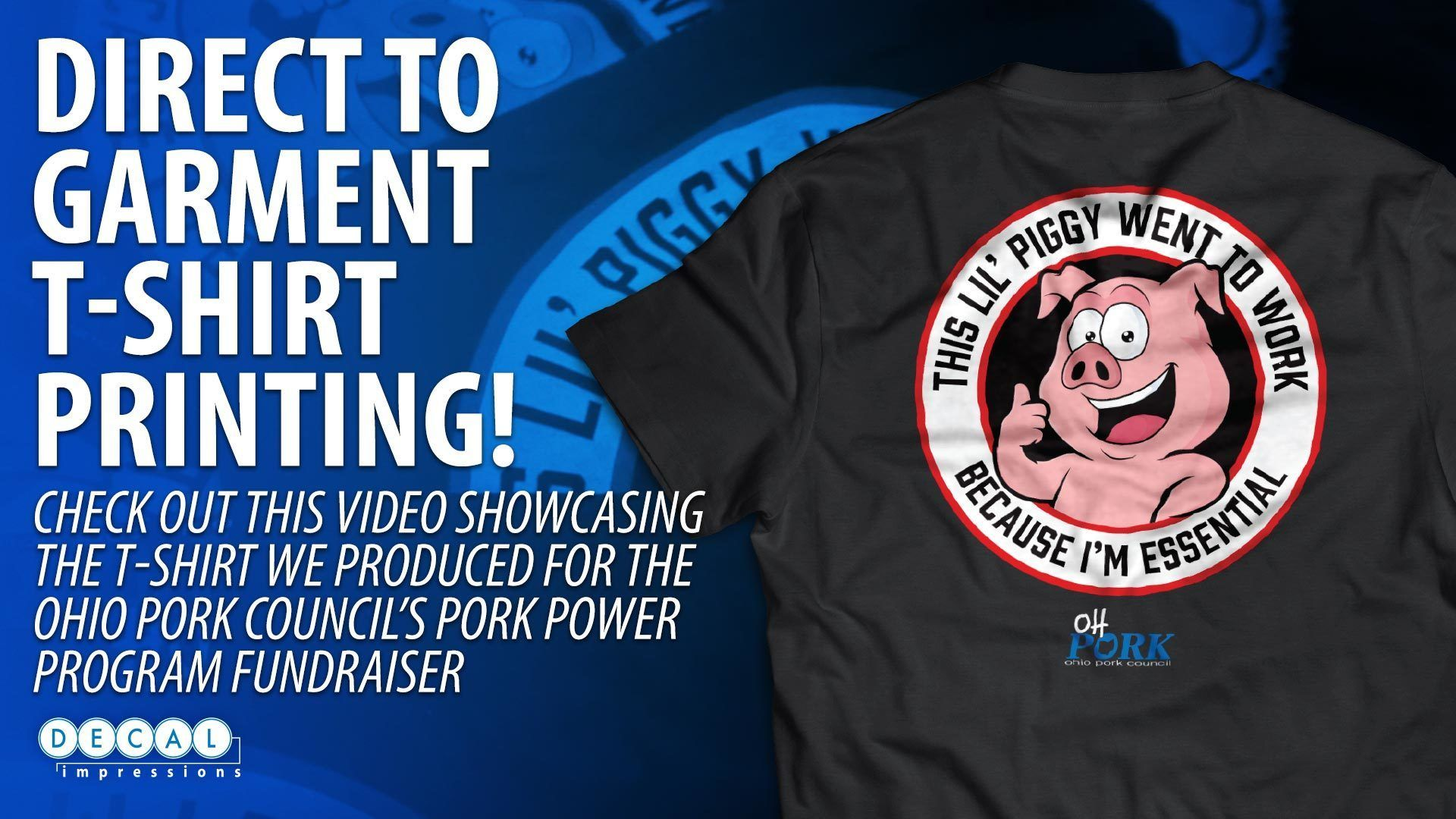 Oh Pork Essential Workers T-Shirt