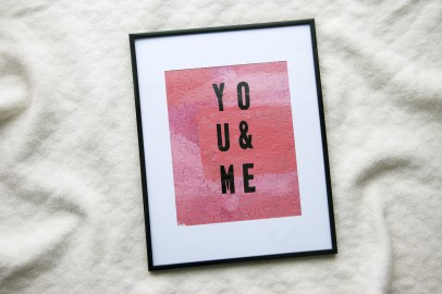 Valentine's Day DIY Gift Idea from Goodwill: Custom Puzzle Art