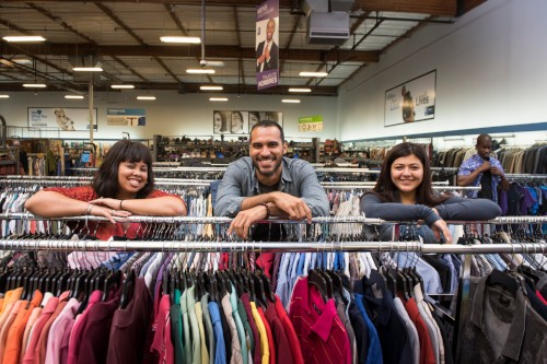 Be a sustainable shopper and visit Goodwill.