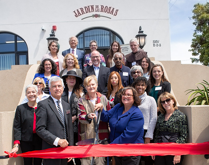 Peoples' Self-Help Housing Opens Doors at Jardin de las Rosas, Affordable Rental Housing in Santa Barbara
