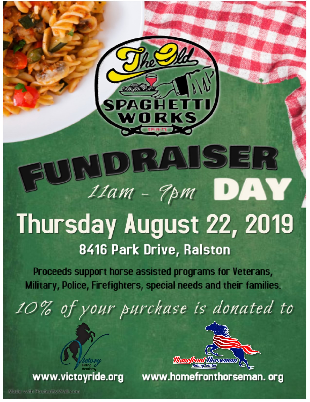 Spaghetti Works Fundraiser
