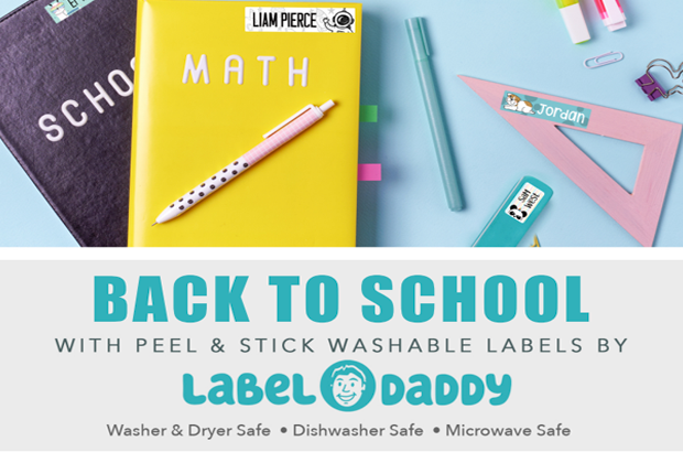 Purchase Label Daddy labels and 25% goes to ECES