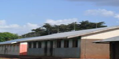Classroom blocks at Runyanya Primary School - now with Lightning Protection Systems (LPS) on all buildings