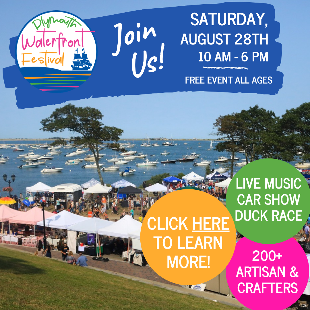 We'll be at the Plymouth Waterfront Festival on August 28th!