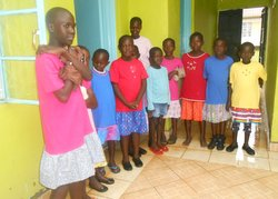 Kenya children receive help from OGT