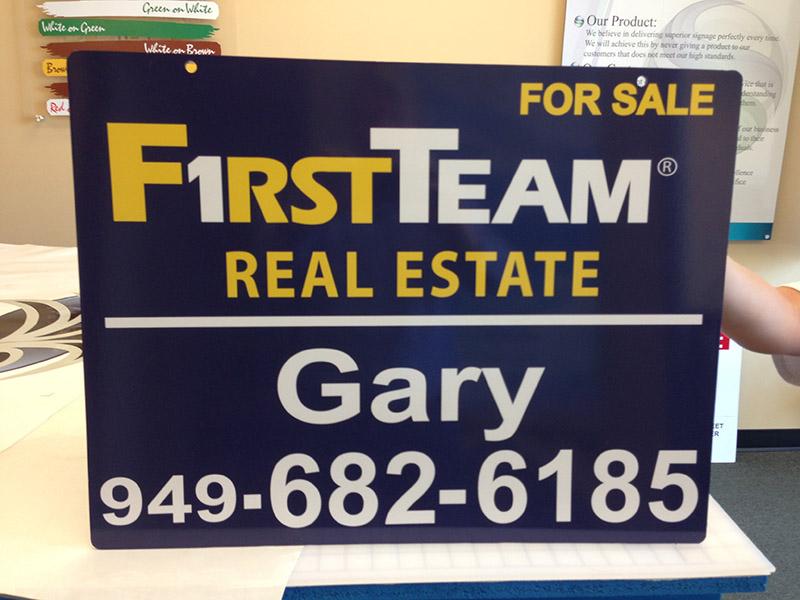 Real Estate Hanging Sign