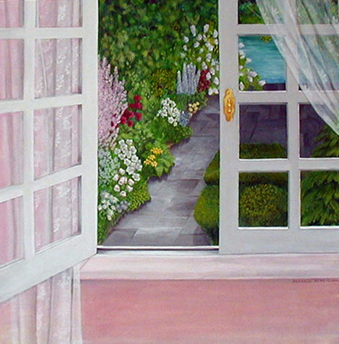 Garden Window View