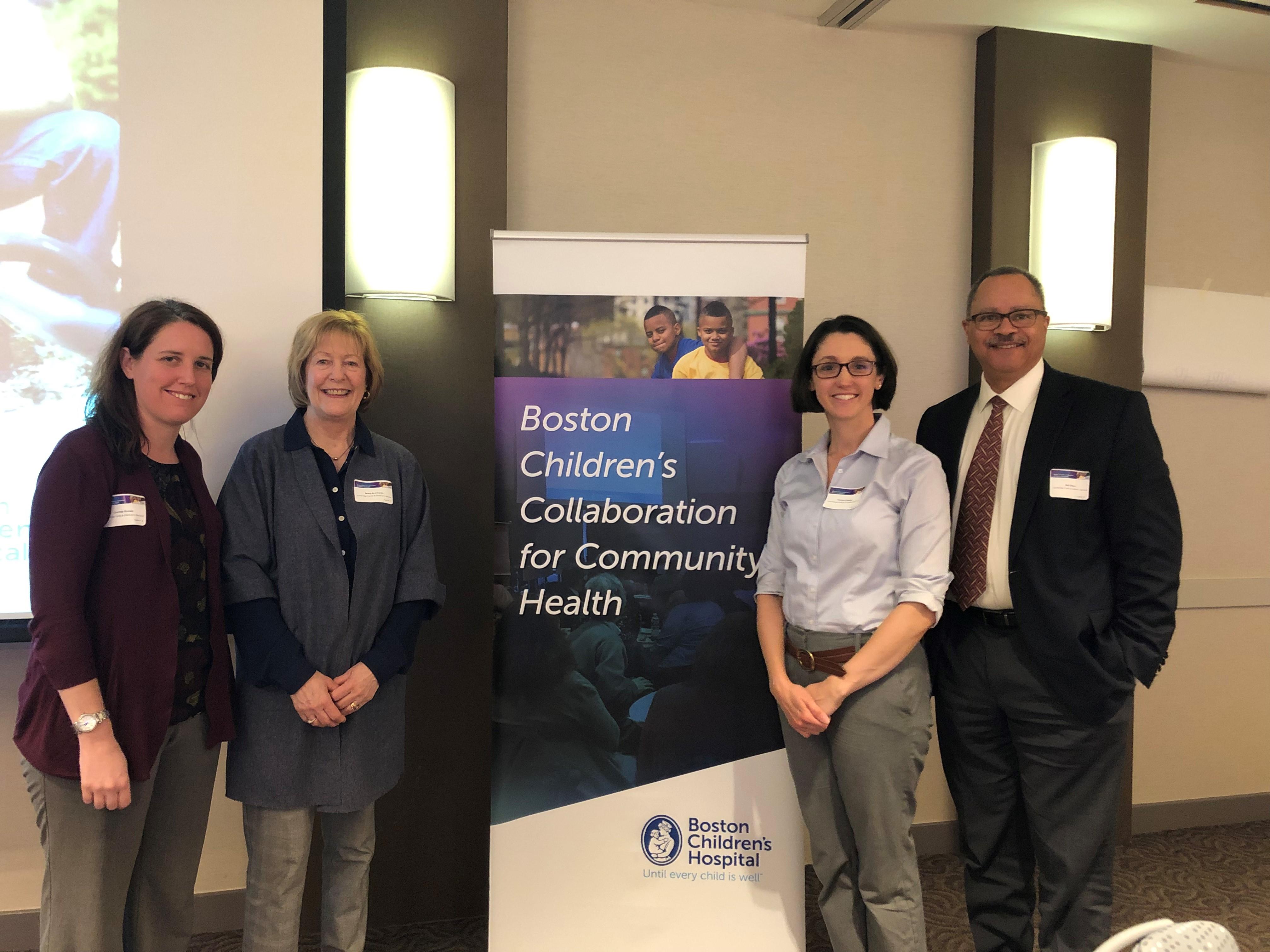 CFCS's Partnership with Boston Children's Hospital Kicks Off