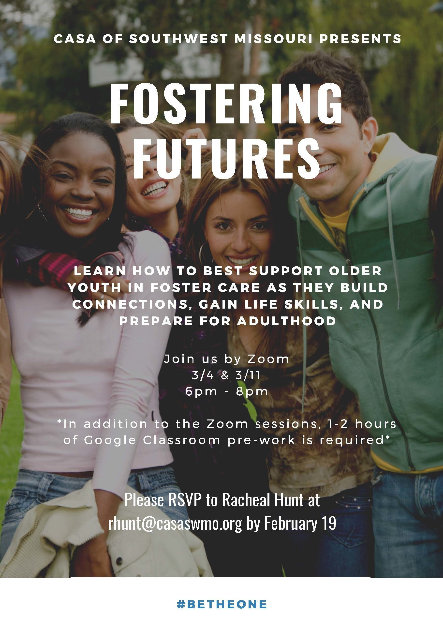Fostering Futures Training Session 1