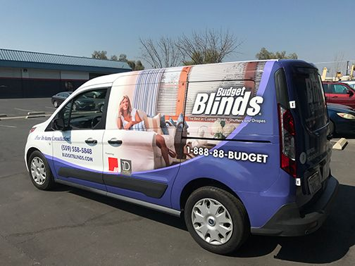 Van Wrap: Budget Blinds