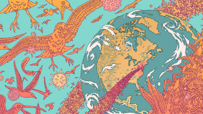 Illustration for National Audubon by Eric Nyquist