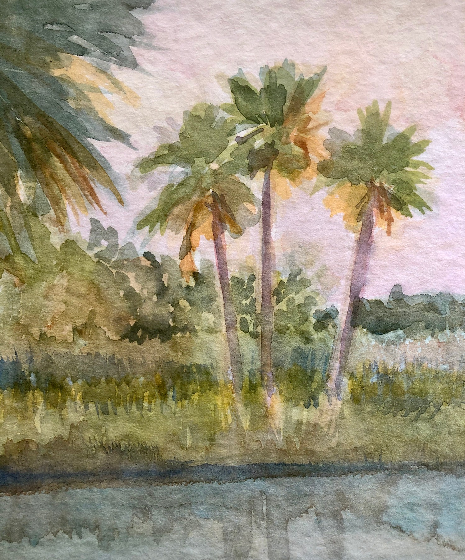 Watercolor Four Part Class Series - February 2020