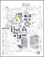 Flint Center Parking Map