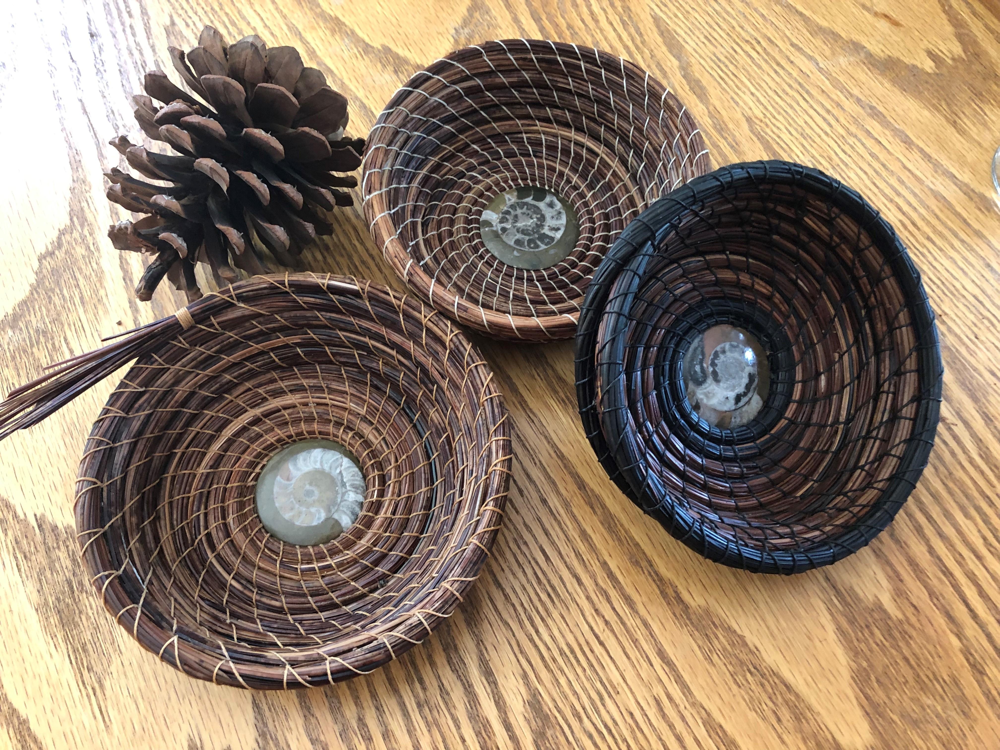 FULL Ponderosa Pine Basket Weaving