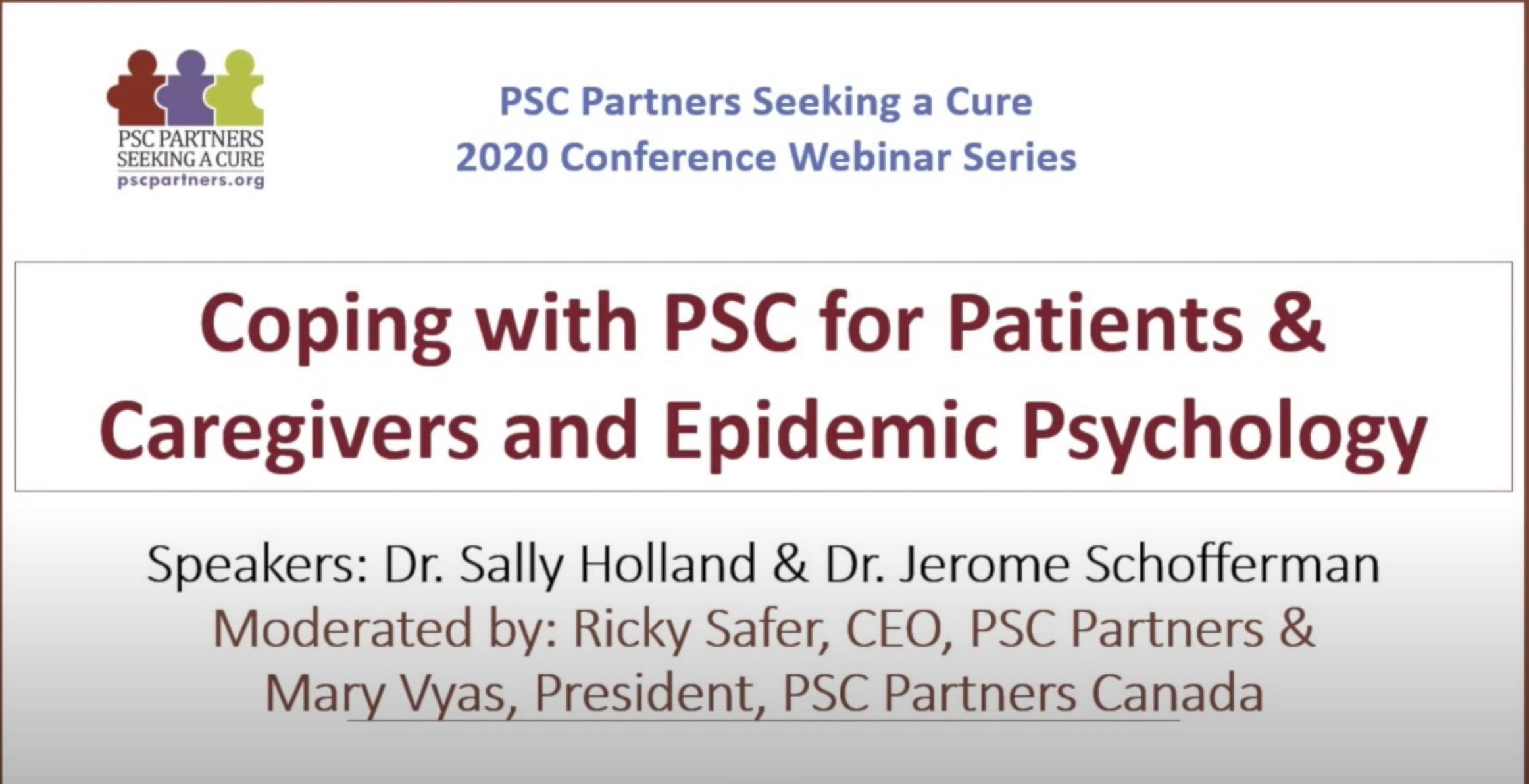 Coping with PSC and Epidemic Psychology