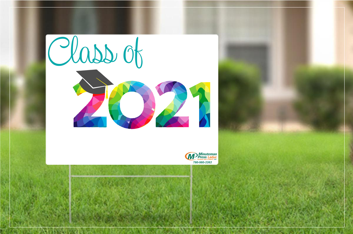 Yard sign - Class of 2021 - Can be personalized