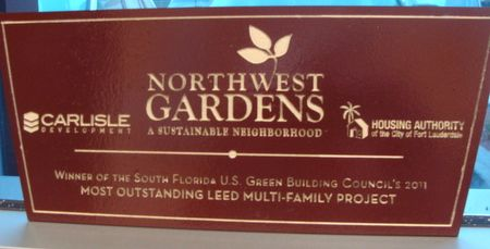 GA16479 - Northwest Gardens for Multi-Family Project Sign