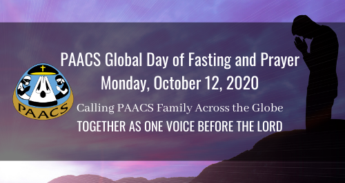 PAACS Global Day of Fasting and Prayer - Gathering #1