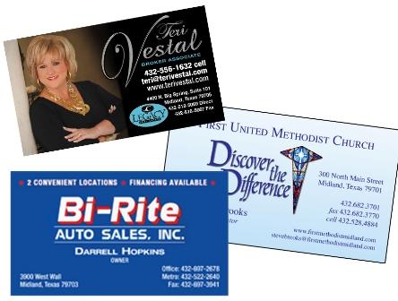Business Cards (color, single side)