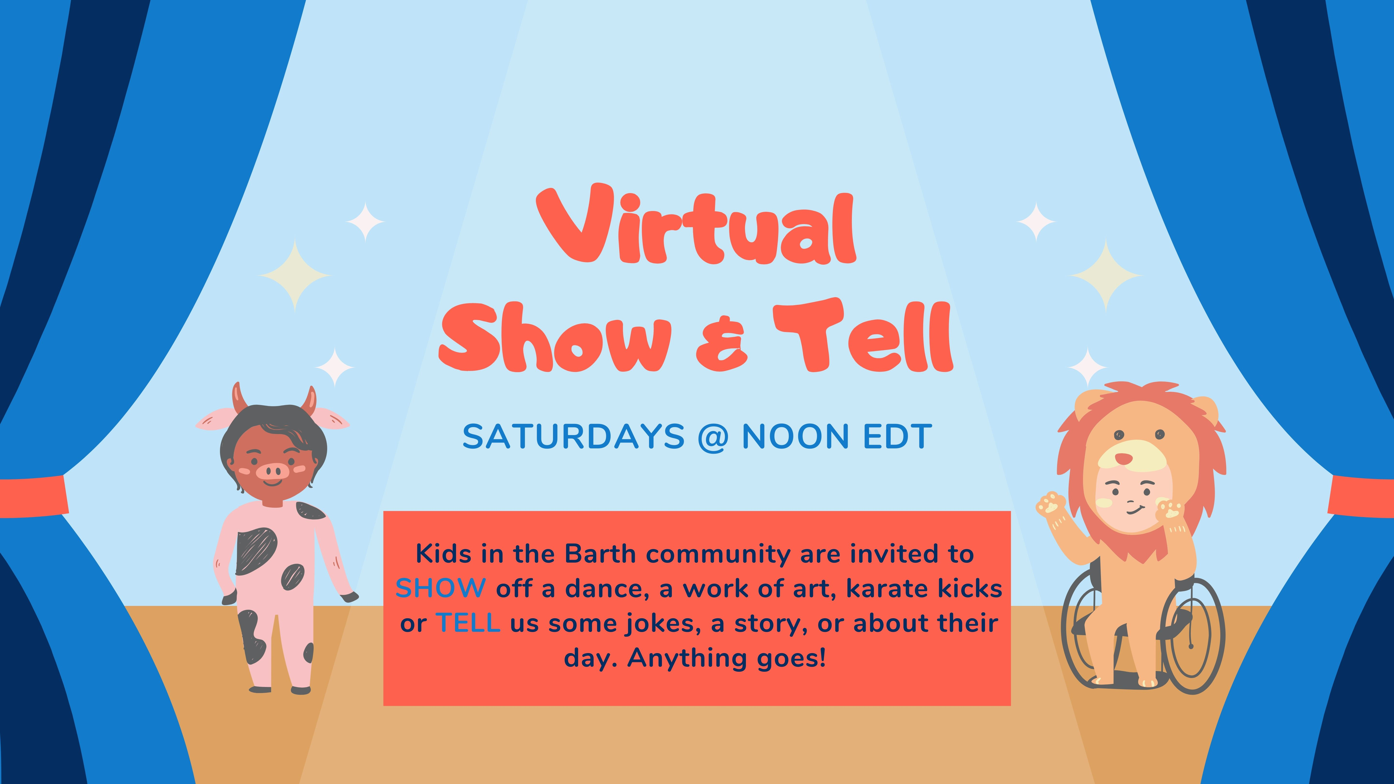 Virtual Show and Tell