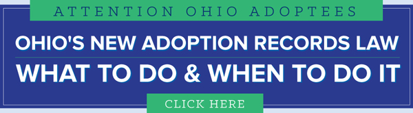 Ohio Adoptee Access Timeline