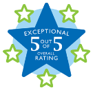 5-Star Overall Rating