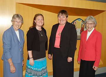 Sister Maria Huber Makes First Monastic Profession