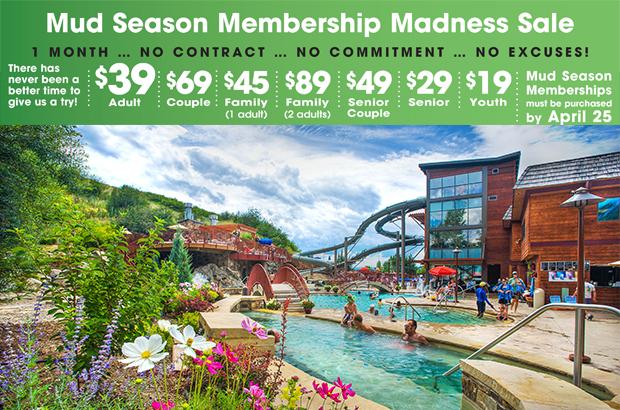 Mud Season Membership Sale