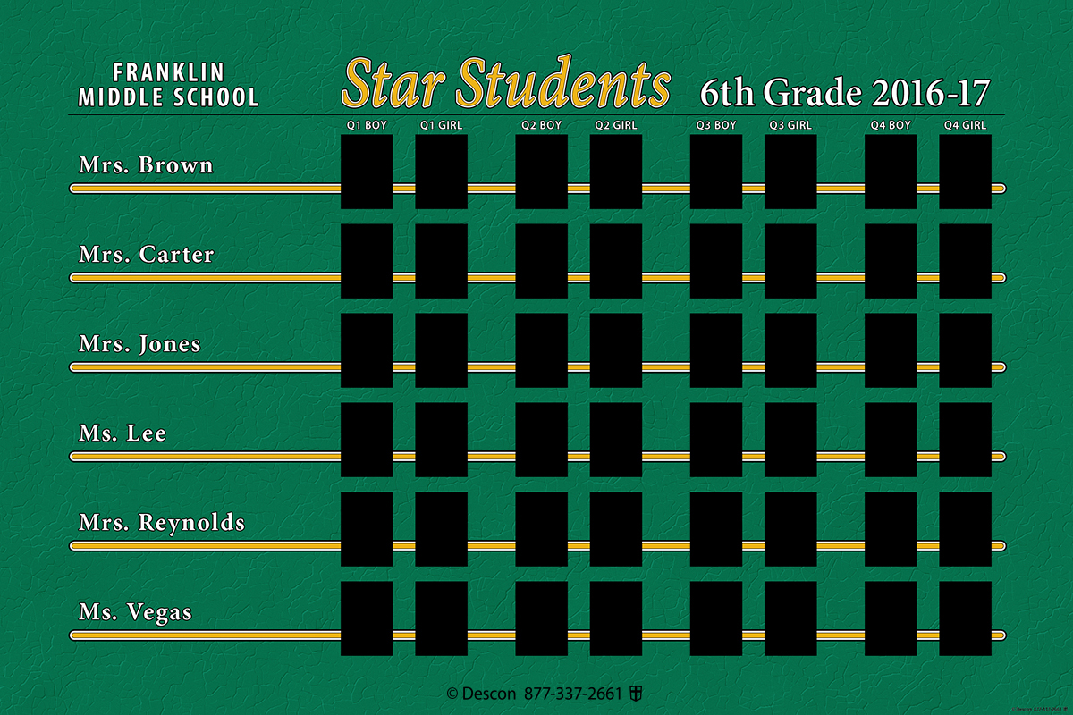 Star Students Insert ONLY