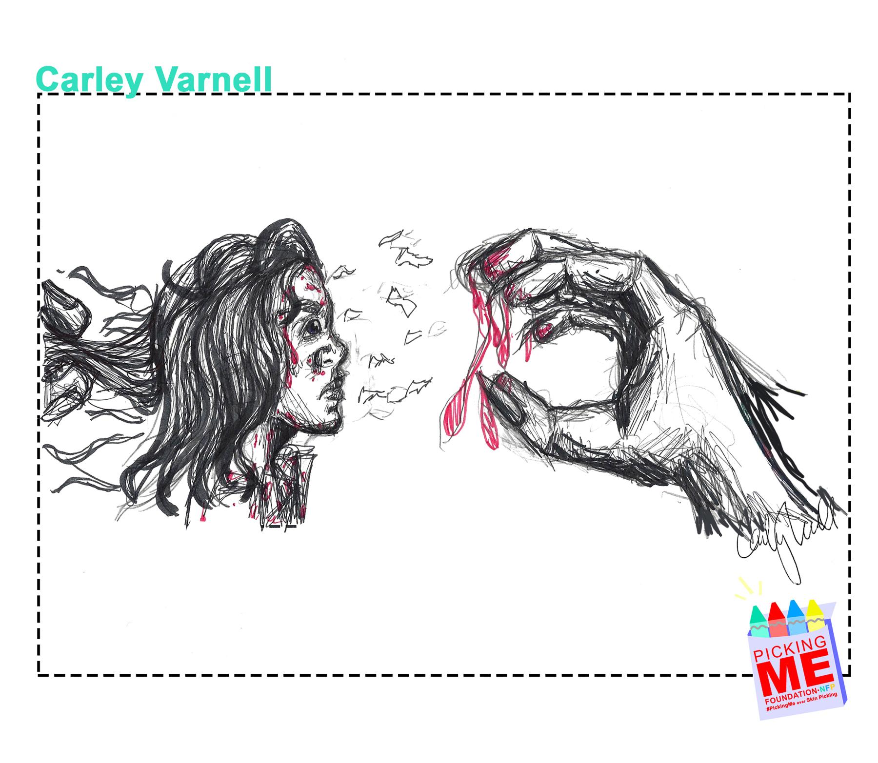 #DrawingWithDerma: Carly