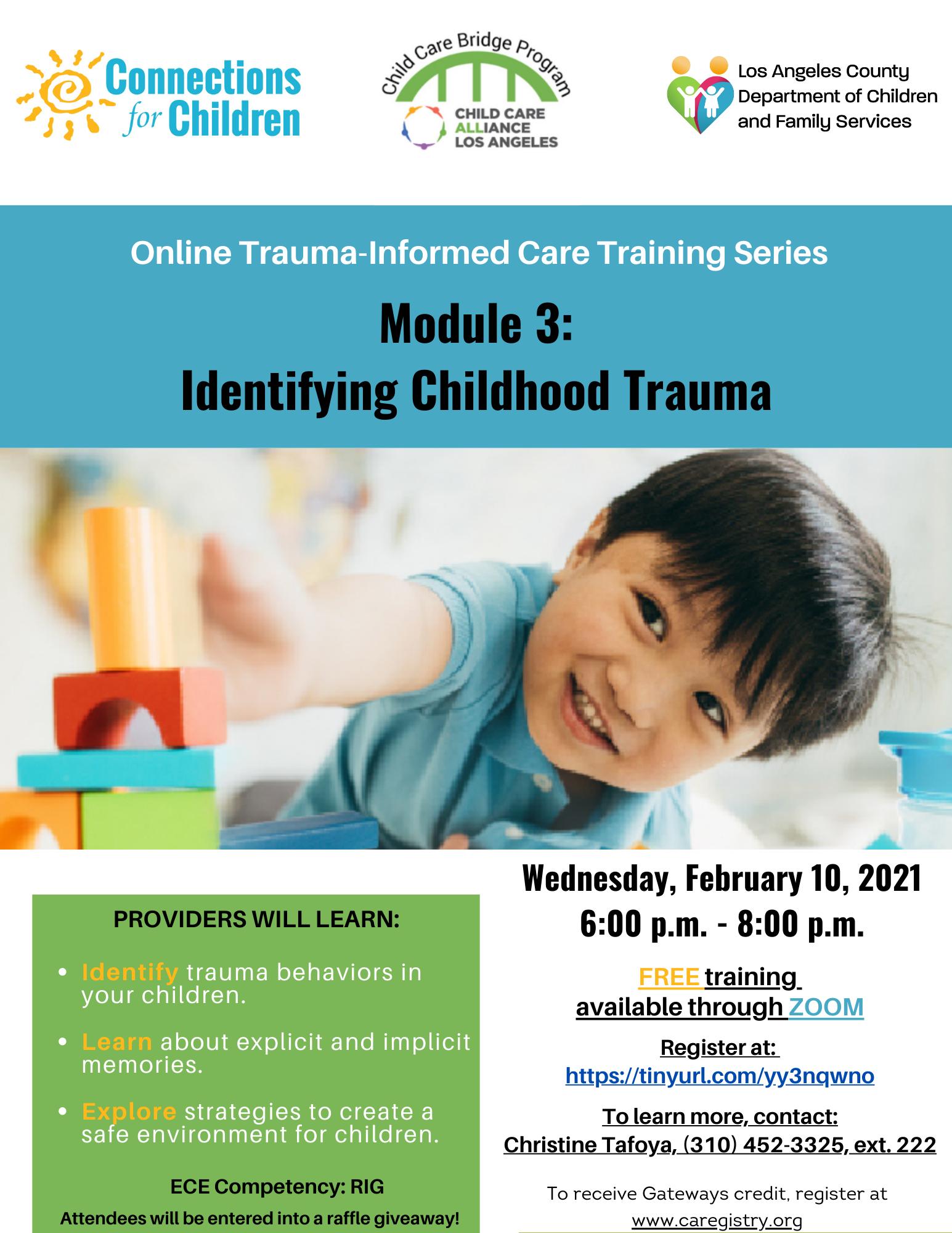 Identifying Childhood Trauma