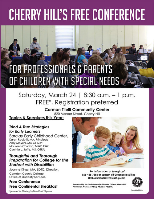 Camden County: Special Needs Conference