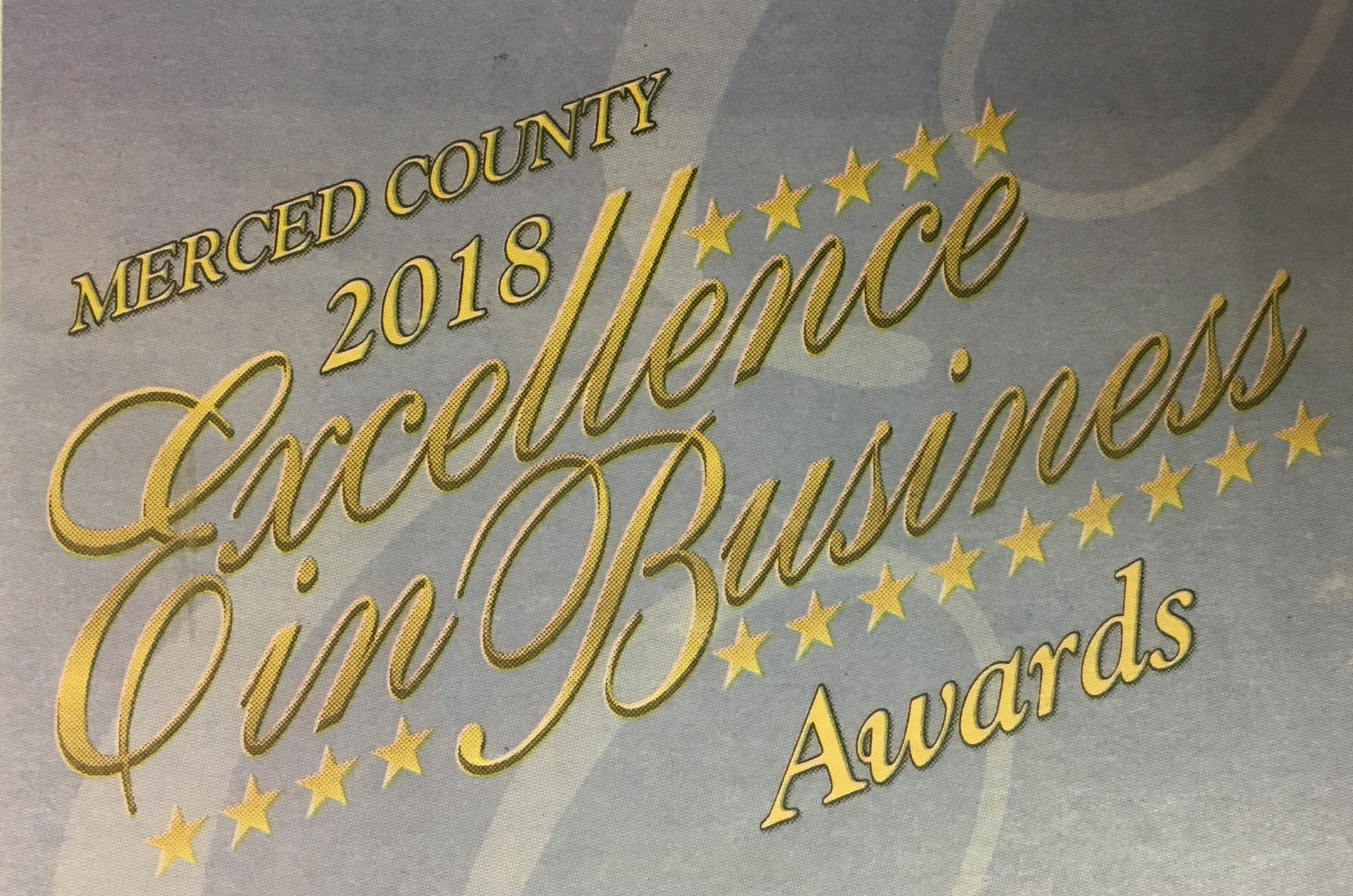 Merced County 2018 Charitable/Nonprofit Excellence in Business Award