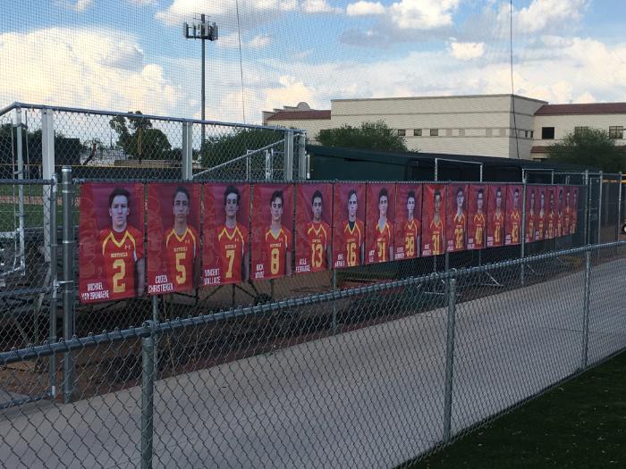 Senior Banners for Athletic and Spiritline | Scottsdale | Phoenix AZ