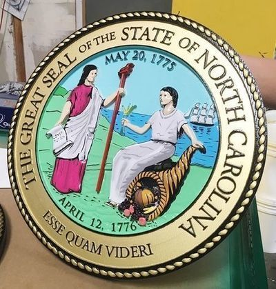 CA1095 - Great Seal of the State of North Carolina