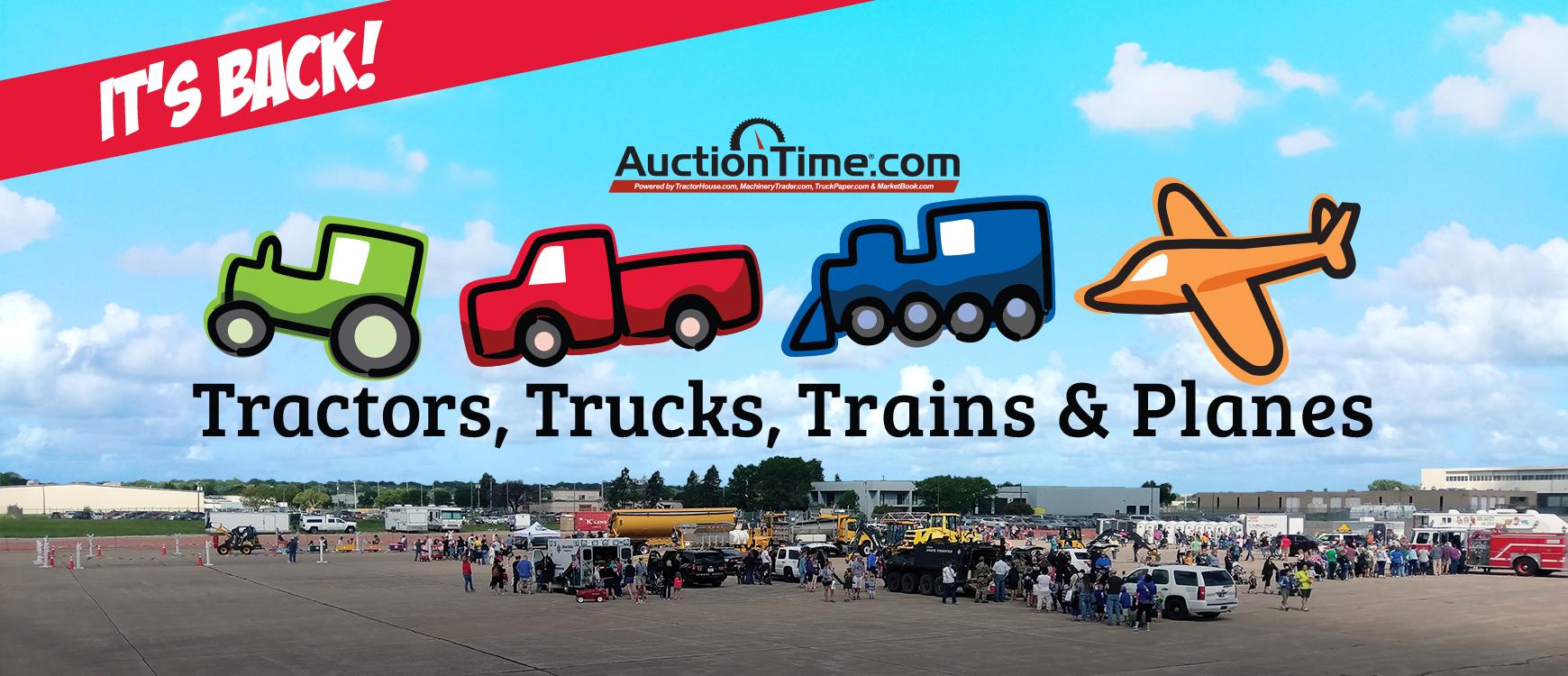 2019 Tractors, Trucks, Trains, and Planes