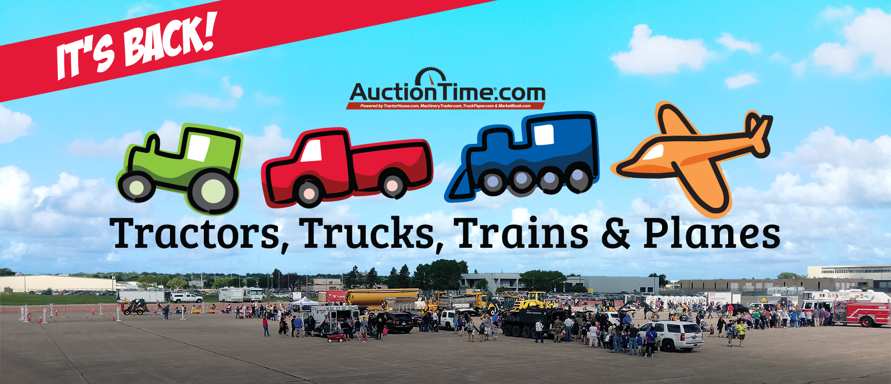 2019 Tractors, Trucks, Trains, and Planes