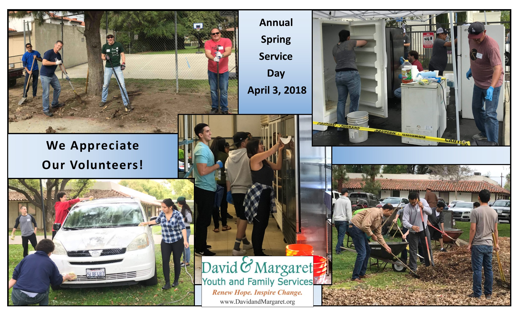 Thank you, Spring Service Day Volunteers!