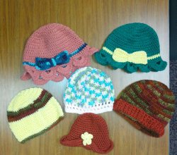 OGT Recieves Crocheted Hats