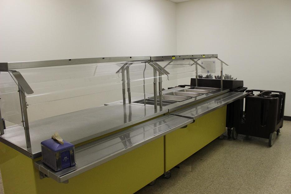 Dining Hall Serving Line