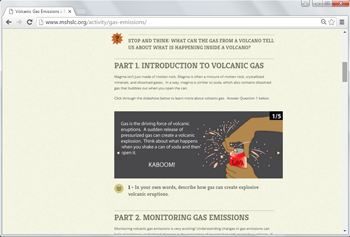 2. Volcanic Gas Emissions        _____________