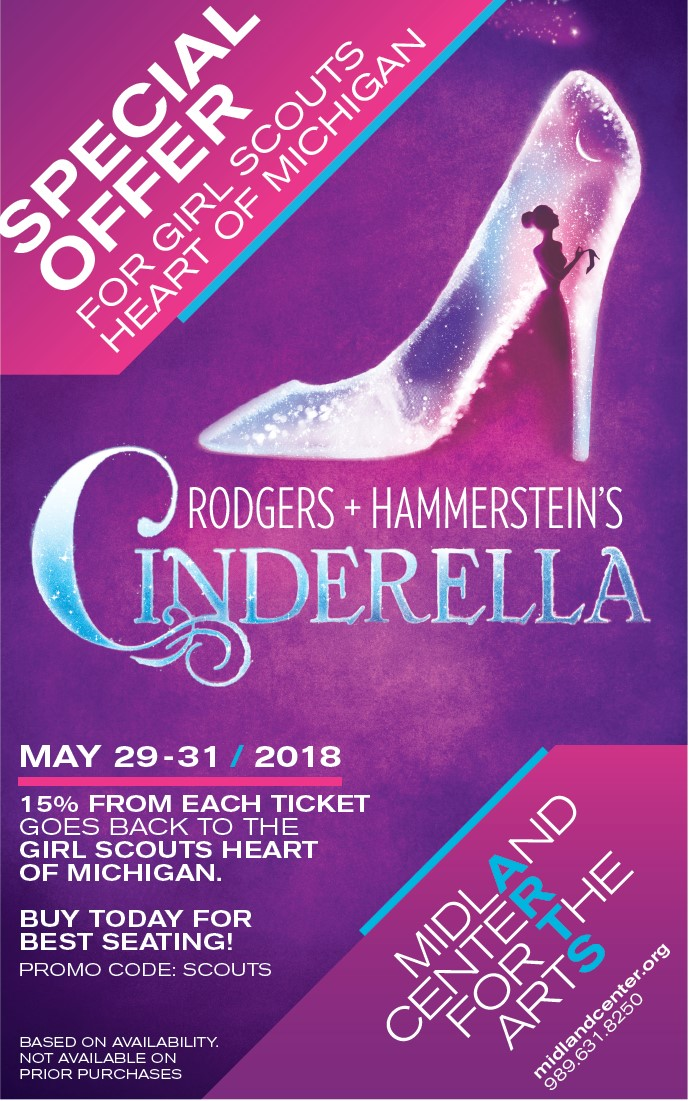 Cinderella with Midland Center for the Arts