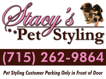 Stacy's Pet Styling Car Magnet