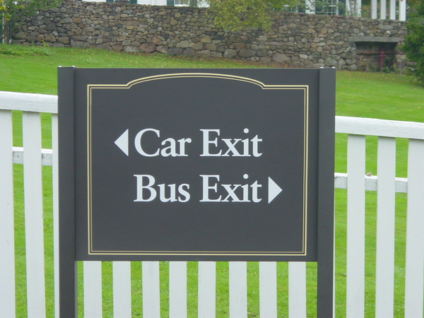 Directional Sign, Wayfinding Project  1 of many Aluminum Post & Panel Signs