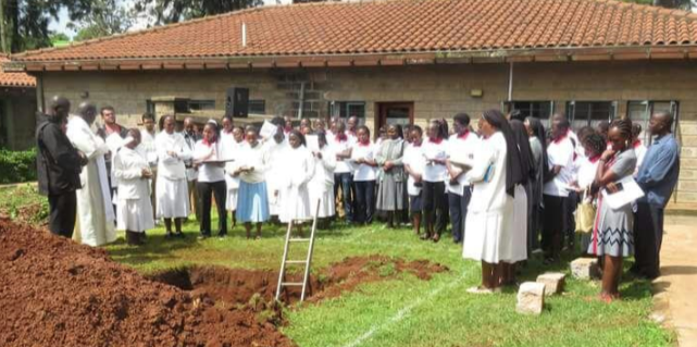 Ground Breaking Ceremony of St. Scholastica Uzima Hospital