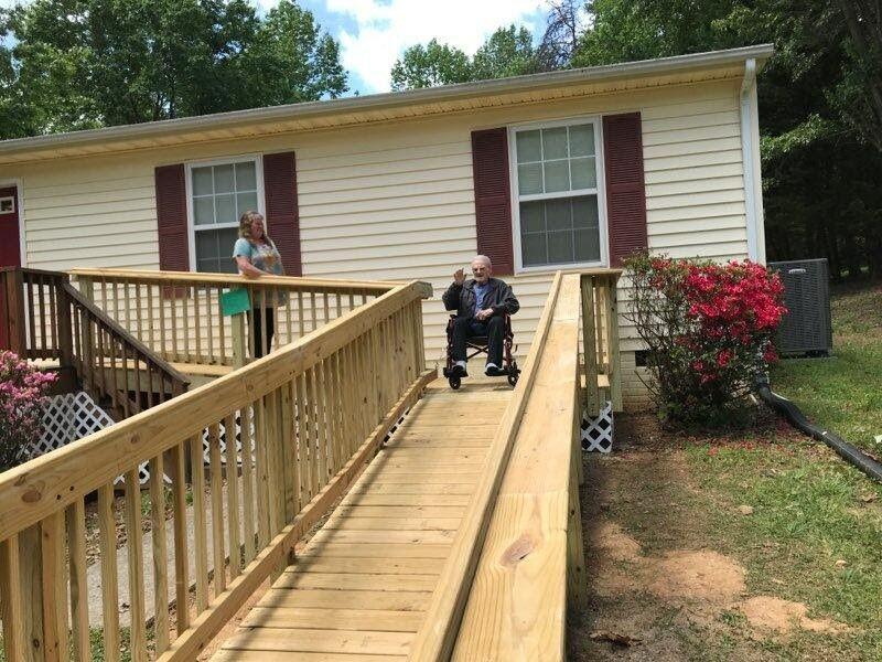 John Taylor Wheelchair Ramp Complete