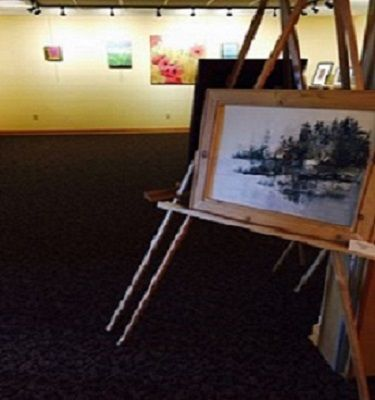 Two Perspectives: The Art of Christine Groleau and Laura Maze Waterfront Gallery Exhibit 2017