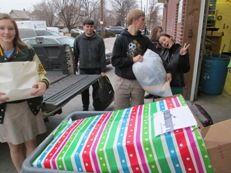 YouthInspire Donates Winter Wear