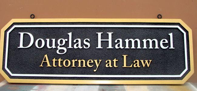 A10135 - Attorney Door Sign