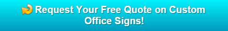 Free quote on office signs Bend Oregon